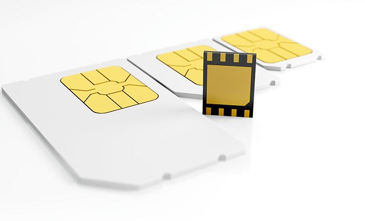 embedded sim card